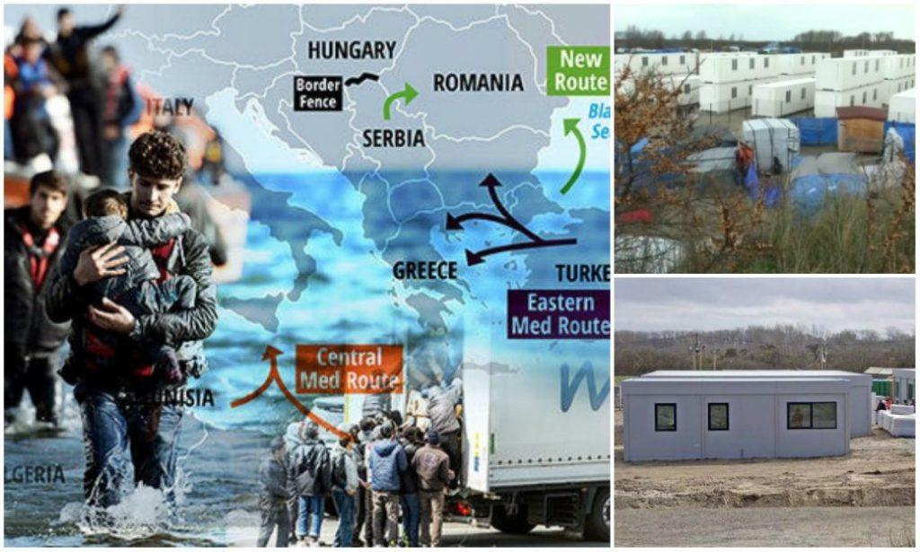Tabere de refugiați