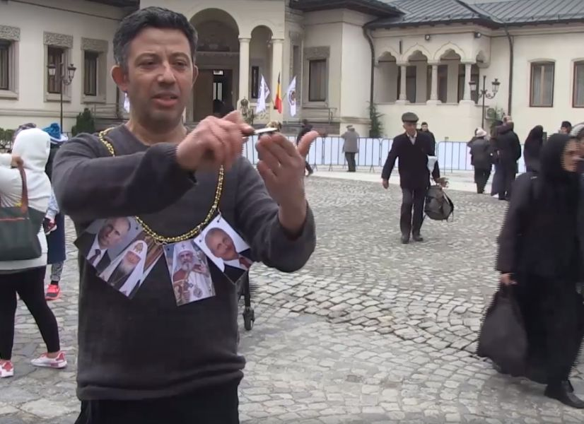 Jidanul Cocălar Alexandru Solomon Profanează Patriarhia cu Sângele Lui Spurcat