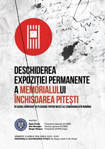 EVENIMENT: Expoziția Permanentă a Memorialului Închisoarea Pitești