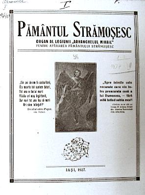 Colecție Ziare Legionare (I), Pământul Strămoșesc