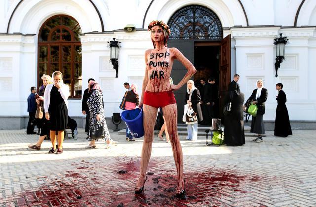 Oksana Shachko din Femen Ucraina În Sfârșit Moartă