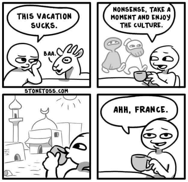 Franța sau Francanistan?
