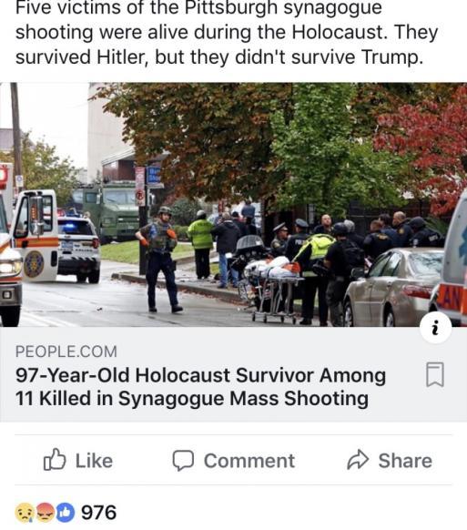 Atac Armat la Sinagogă 11 morți