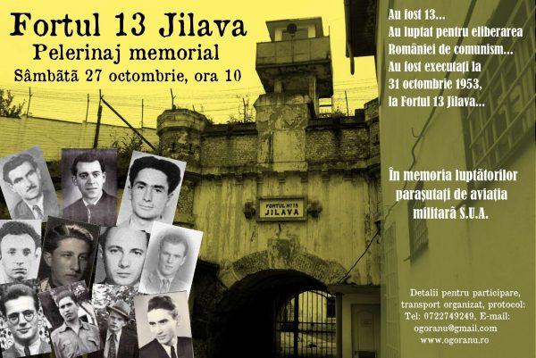 Pelerinaj Fort Jilava 31 Octombrie
