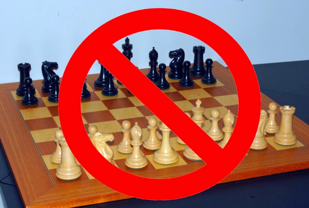 Șahul este INCORECT POLITIC