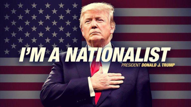 """Președintele Trump - """"Sunt Naționalist"""""""