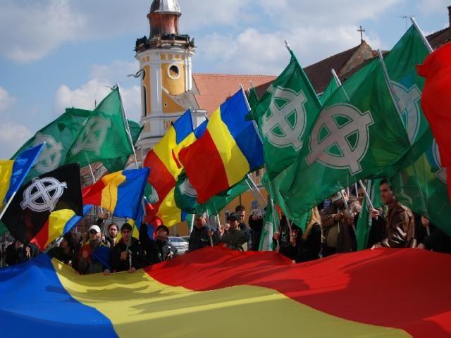 MARȘUL ÎMPOTRIVA COLONIZĂRII ROMÂNIEI
