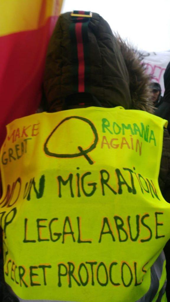 Peste 2000 de Oameni la Protestul Împotriva Colonizării României