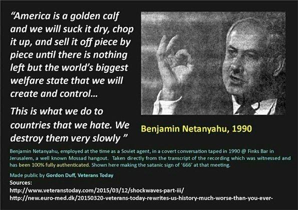Porcii lui Daea și Jidanii de la Auschwitz Netanyahu_Quote