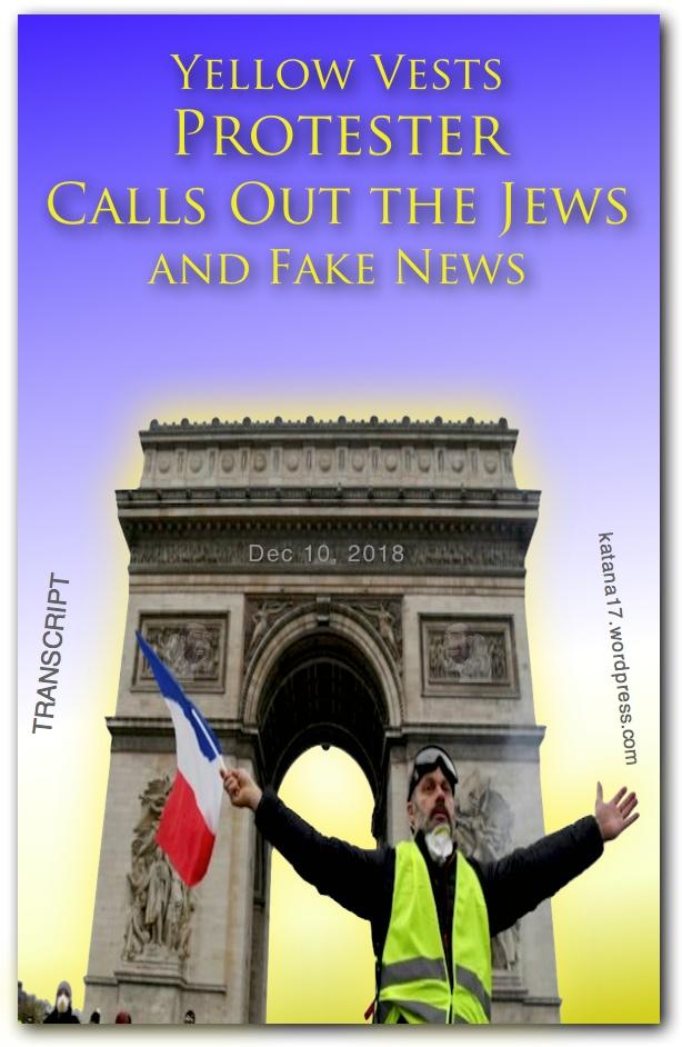 Porcii lui Daea și Jidanii de la Auschwitz Yellow-Vests-Protester-COVER