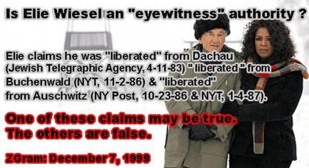 Porcii lui Daea și Jidanii de la Auschwitz Elie-weisel