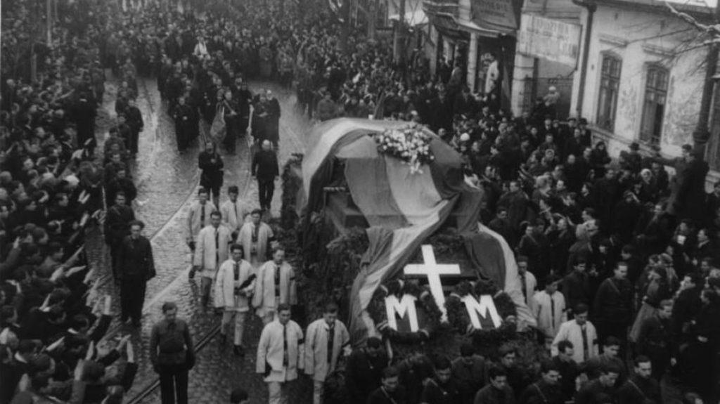 82 de Ani de la Înmormântarea Eroilor Moța și Marin