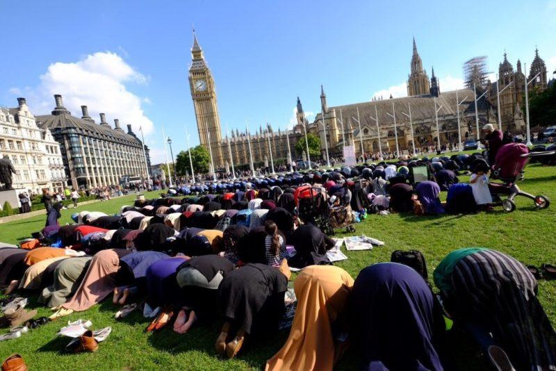 Londra Rugaciune Djihadista