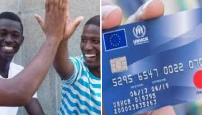Carduri de Debit la Doua Milioane de Migranți