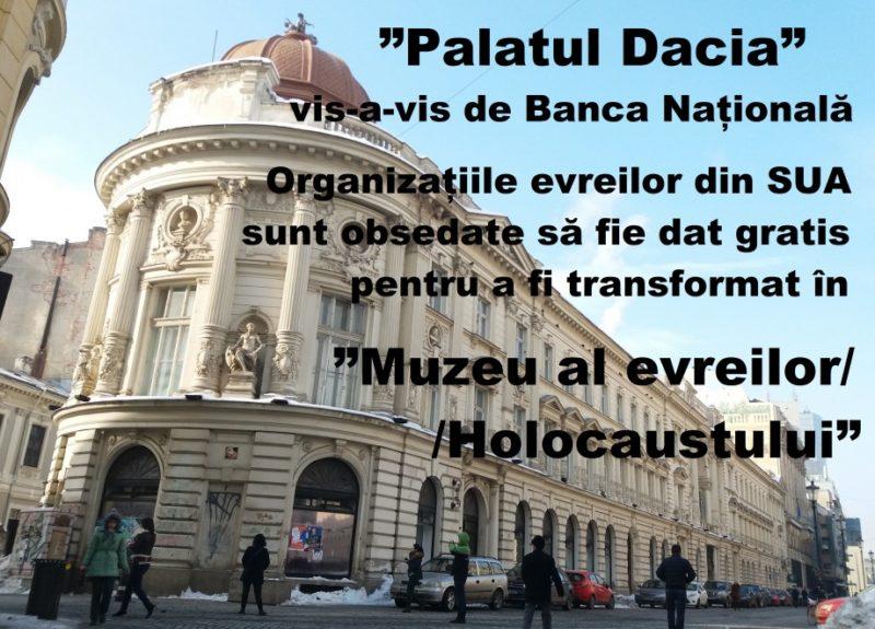 Palatul Dacia Vândut Cahalului