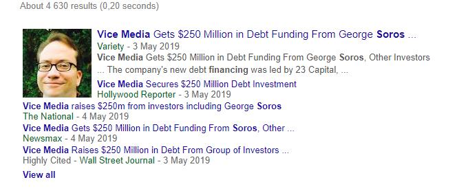 George Soros Finanțează Vice