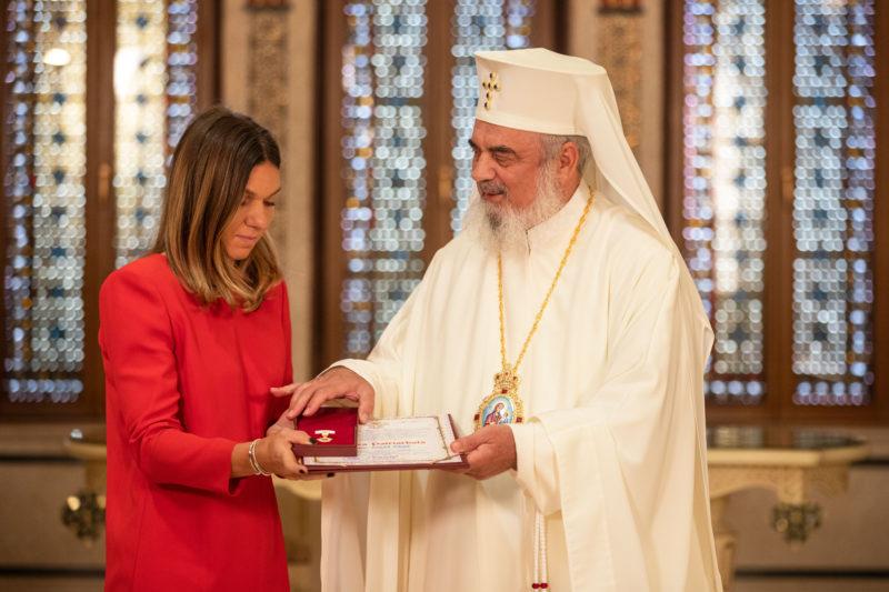 Crucea Patriarhală Acordată Simonei Halep