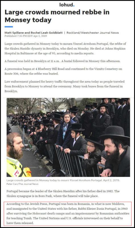 Mii de Jidani Prezenți la Înmormântarea Unui Escroc