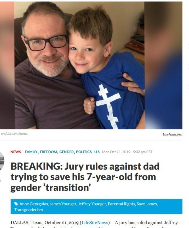 Copil de 7 Ani Transexualizat prin Decizie Judecătorească