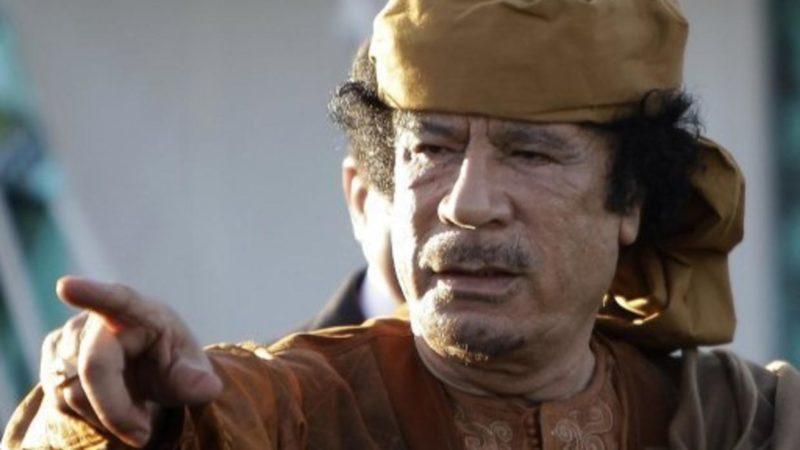 Motivul Asasinării lui Gaddafi