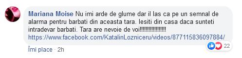 Femeie către Români