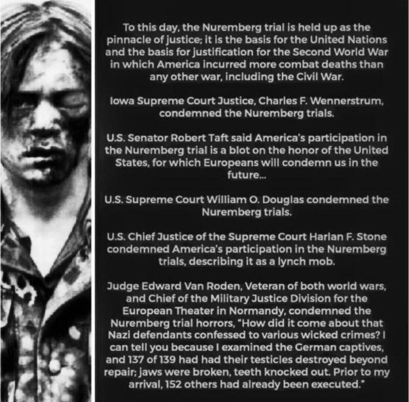 Rușinea Americii - Participarea la Tribunalul de la Nuremberg