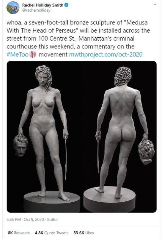 Statuie cu Meduza