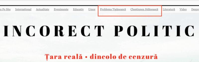 """Senatori AUR promovează """"un site rasist cu accente naziste"""""""