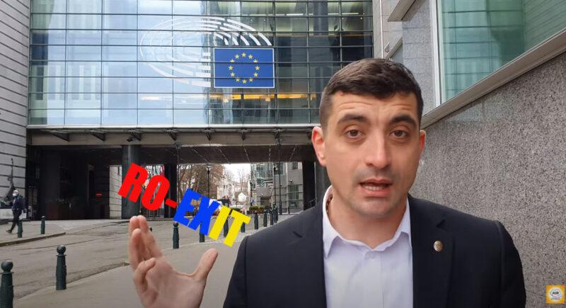 """George Simion în fața Parlamentului European DENUNȚĂ """"televiziunile toxice de la București"""