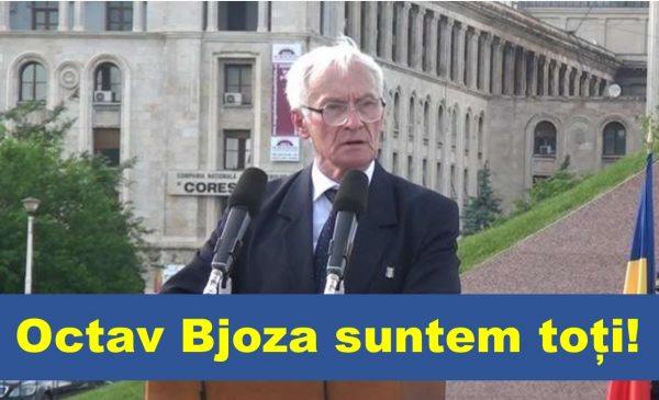Domnului Octav Bjoza cu rușine în suflet