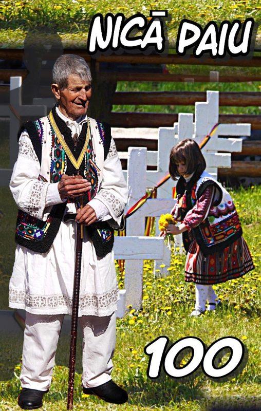 Veteranul Nică Paiu omagiat la 100 de ani