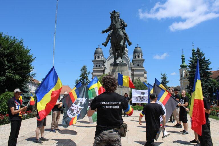 Ziua Drapelului Național Sărbătorită la Târgu Mureș