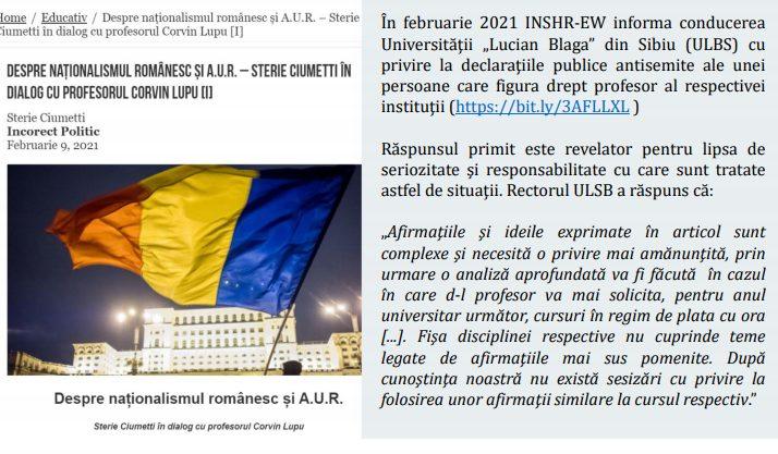Cine sunt Românii care deranjează sistemul?