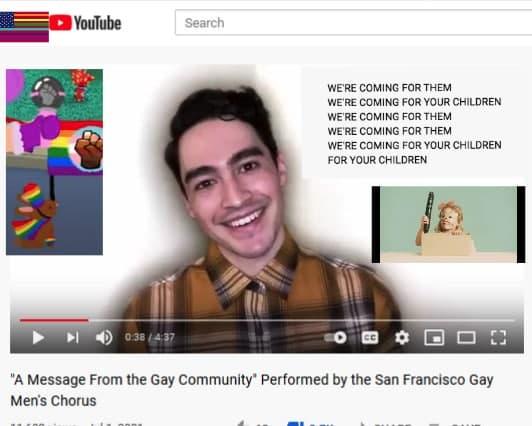 Corul Pedofililor din San Francisco: Venim după copiii tăi!